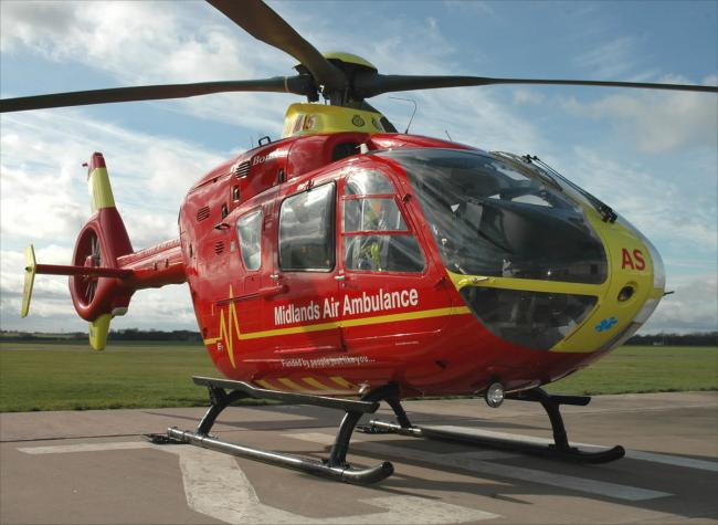 Picture: Midlands Air Ambulance Charity