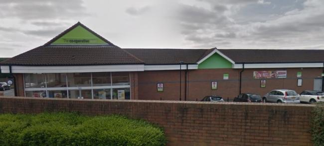 The Co-Op supermaket on Dibdale Road. Photo: Google Maps.