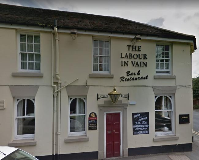 The Labour in Vain pub in Red Hill. Image: Google Maps.