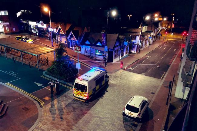 Purley stabbing