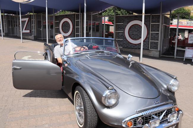 West Midlands Classic Car Club show organiser, Maurice Cole.