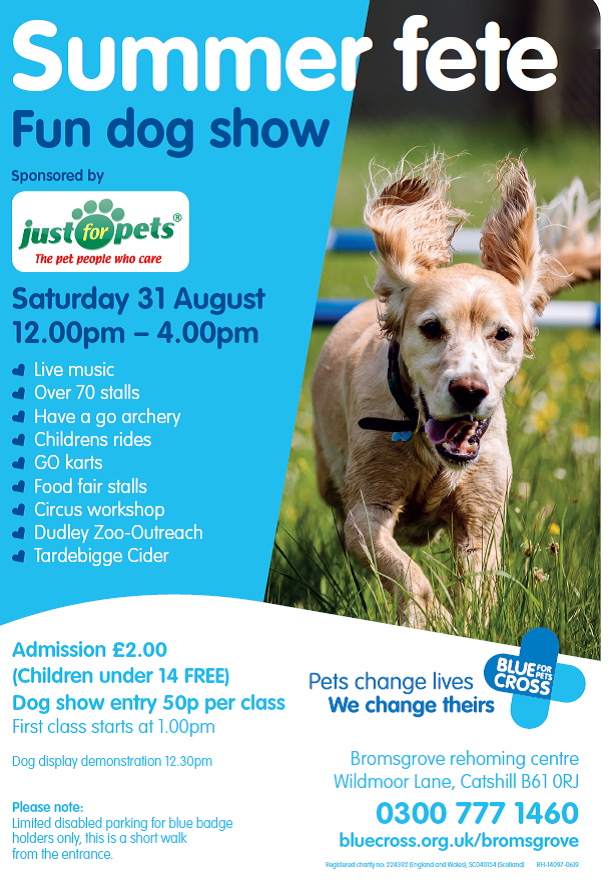 Blue Cross Fete & Fun Dog Show