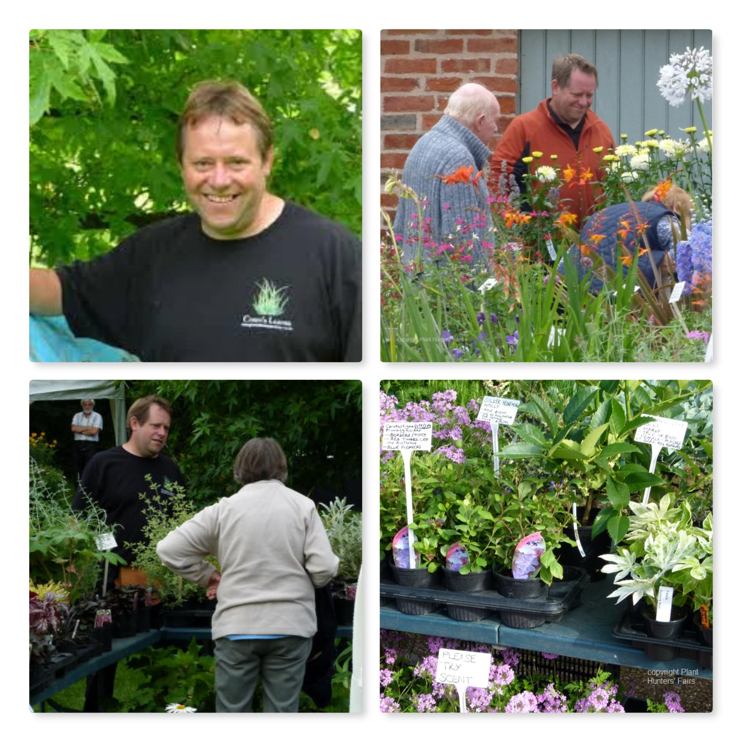 Paul Green of Green's Leaves speaks to Wigmore Garden Club