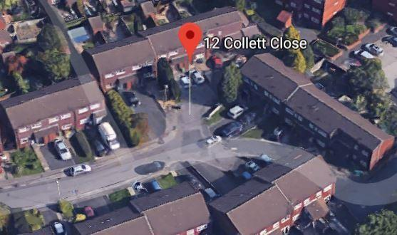 Collett Close in Amblecote. Pic - Google