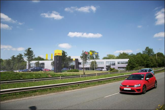 The proposed new HQ. Pic: Sandvik.