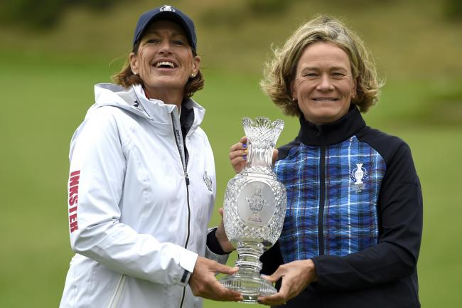 Juli Inkster and Catriona Matthew