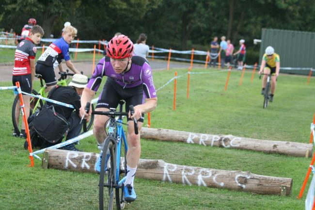 Action from the West Midlands cyclo-cross season
