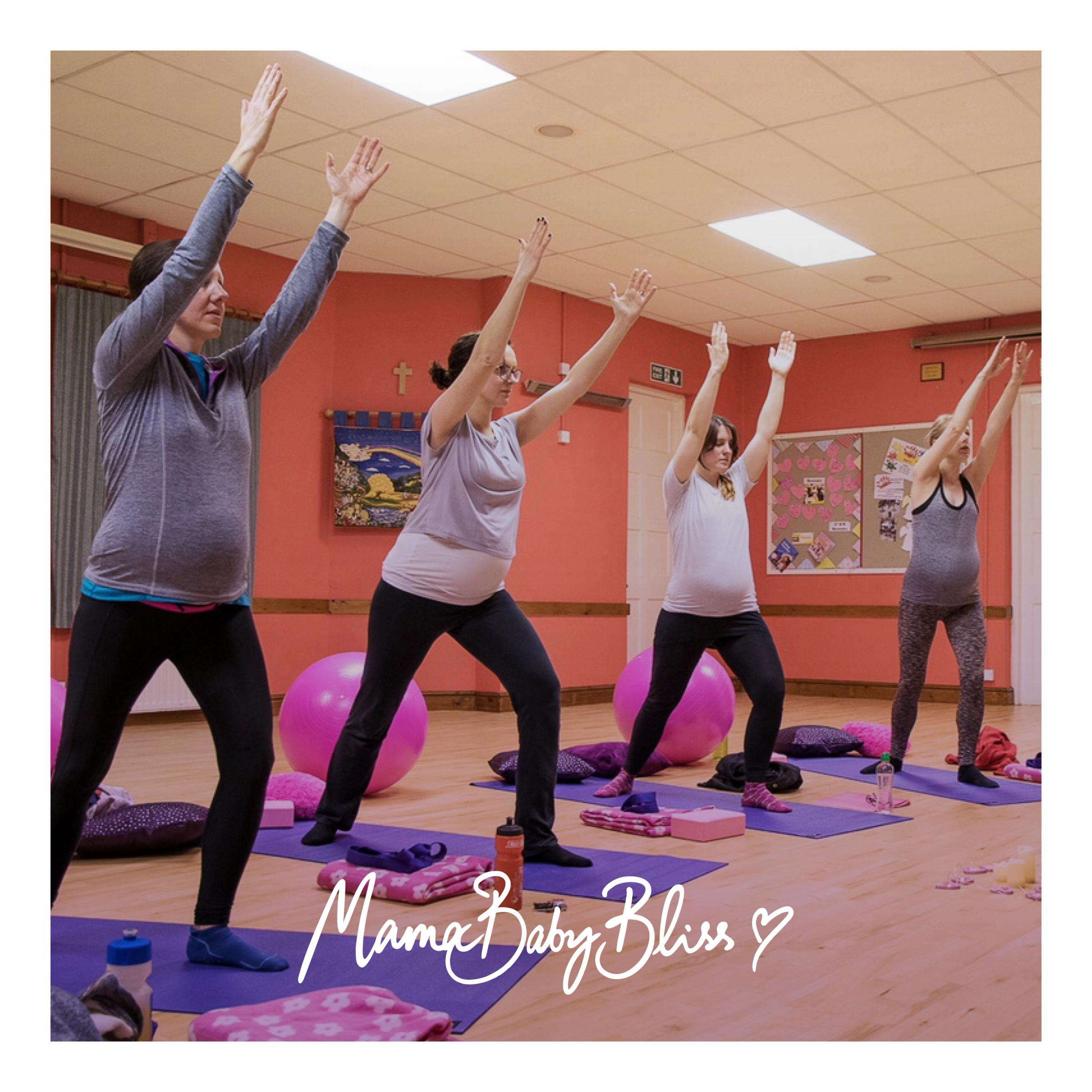 Pregnancy Yoga Relax and Stretch