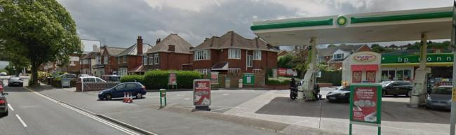 The incident happened on Stourbridge Road, near the BP garage in the early hours of this morning. Pic: Google