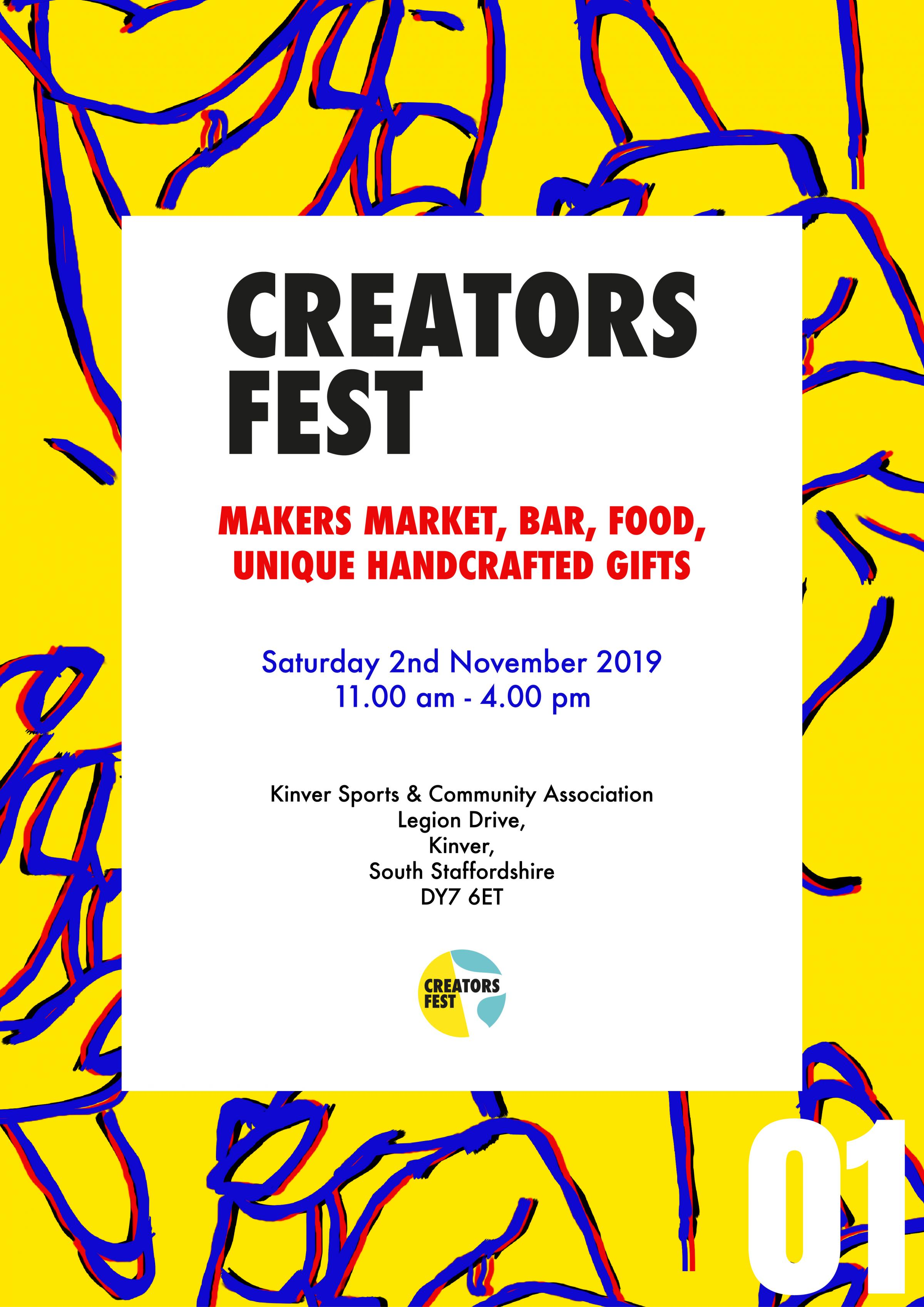 Creators Fest Makers Market Kinver Free Entry