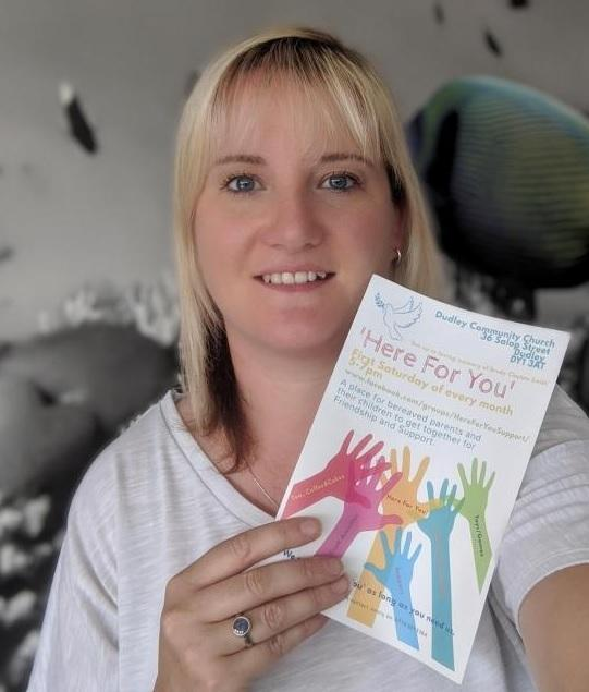 Jenny Smith founded the 'Here for You' support group to help grieving parents in the Black Country.