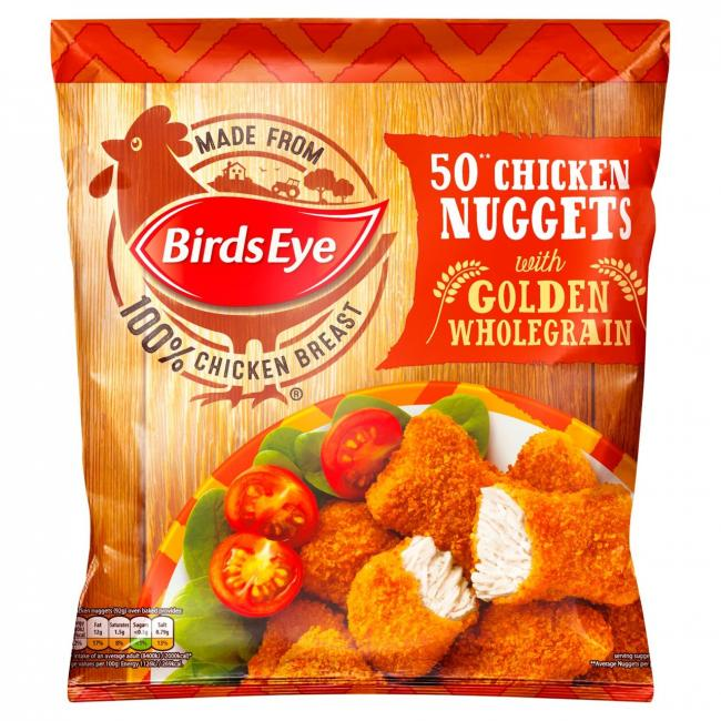 Bags of 50 Birds Eye chicken nuggets are being recalled as they may contain plastic
