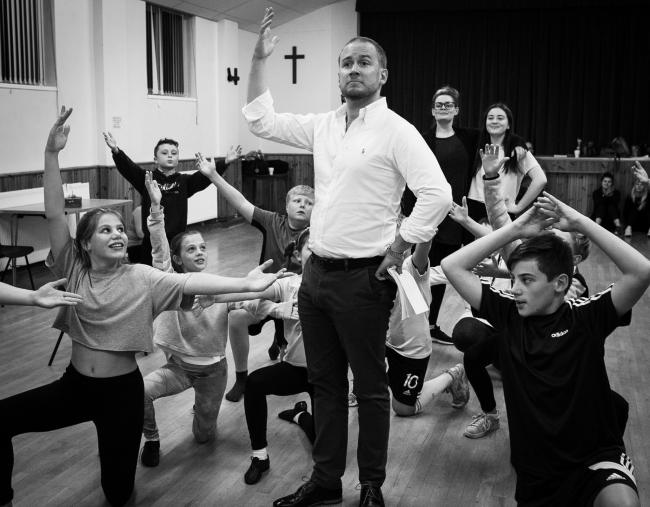 Rehearsals are well underway for Oliver! which will run at Stourbridge Town Hall. Pic by Paul Costello Photography