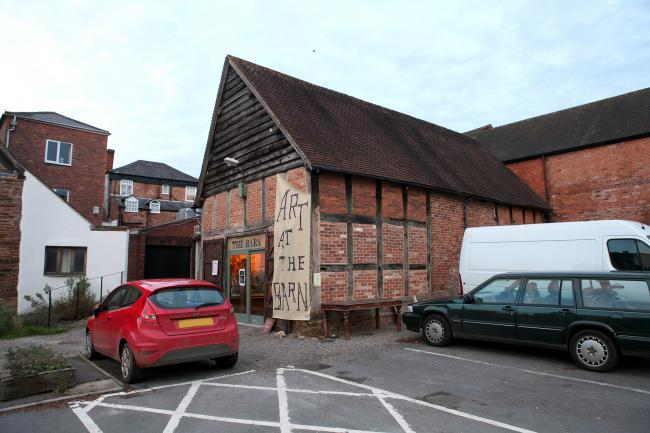 St Katherine's Barn in Ledbury has had its licence to play popular music suspended.