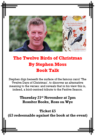 Stephen Moss The Twelve Birds of Christmas