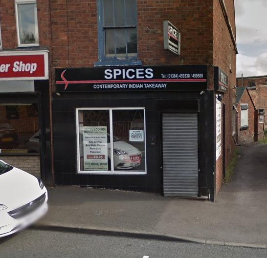 Spices in Zoar Street, Lower Gornal
