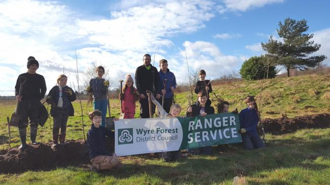 Kidderminster schoolchildren will help rangers to plant the trees near to Stourvale and Puxton Nature Reserve