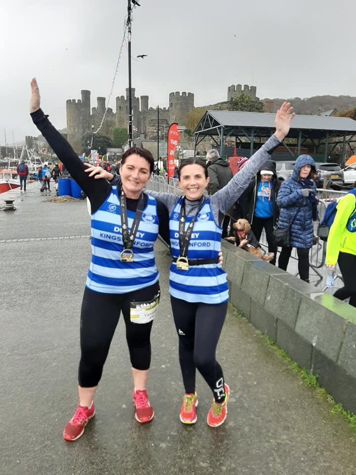 DK Running Club friends complete Conwy Half Marathon - Dudley News