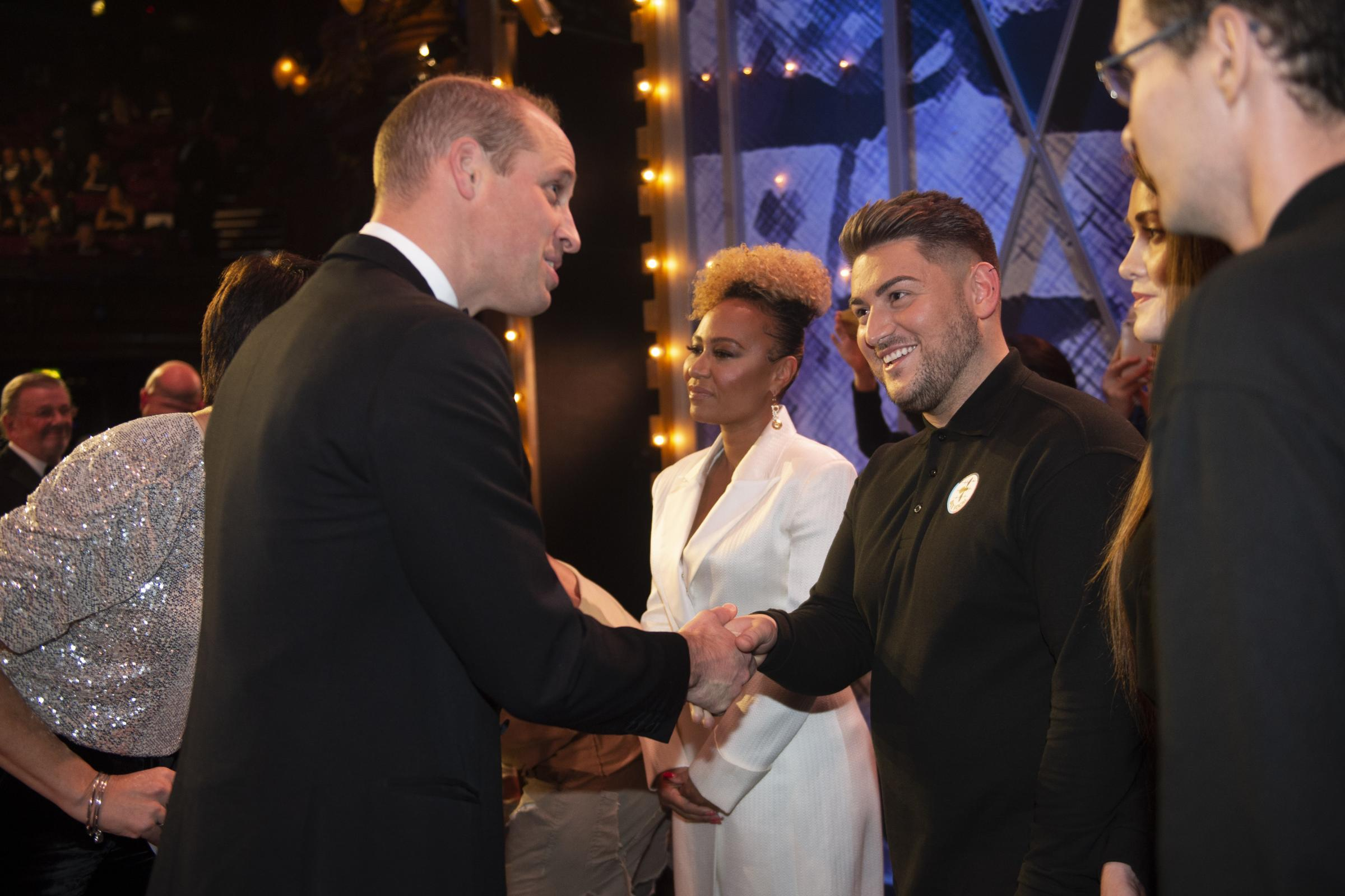 William awards 'royal seal of approval' to variety performance hosts - Dudley News