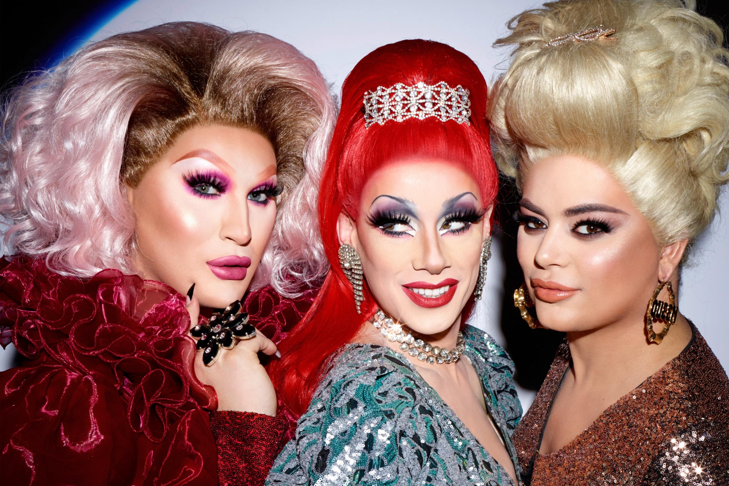 RuPaul's Drag Race UK finalists in photoshoot with Rankin - Dudley News