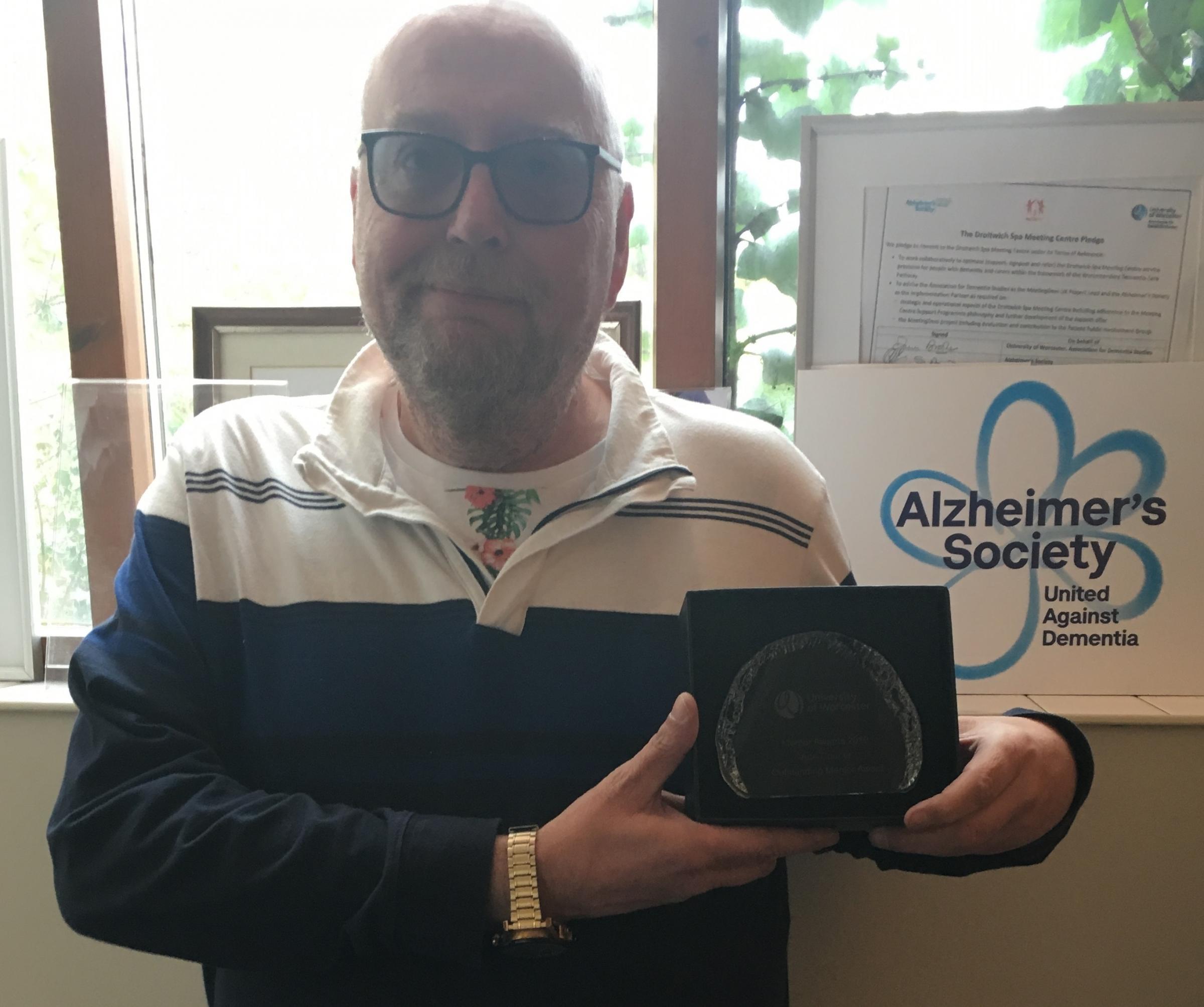 Alzheimer's Society mentor from Worcester wins award - Dudley News