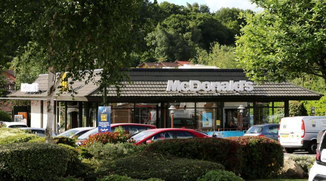 The pedestrian was seriously injured after being hit by a car outside McDonald's in Worcester Road, Kidderminster