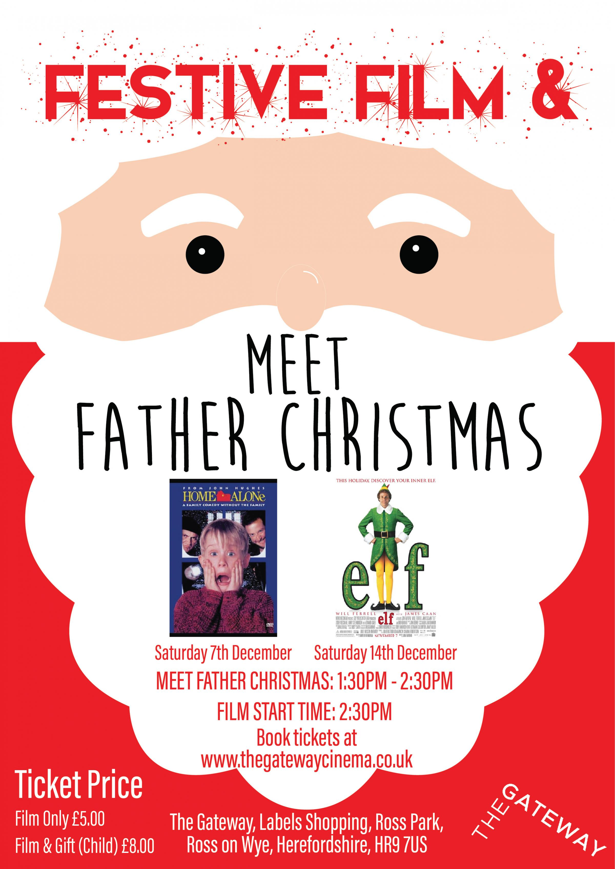 Home Alone: Festive Film & Meet Father Christmas