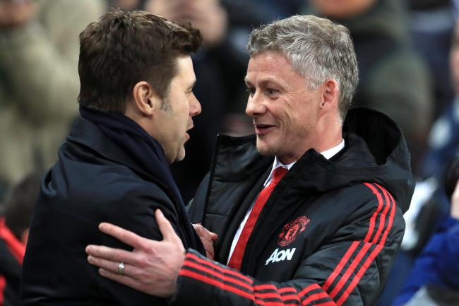 Mauricio Pochettino (left) and Ole Gunnar Solskjaer