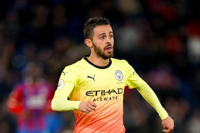 Pep Guardiola has defended Bernardo Silva