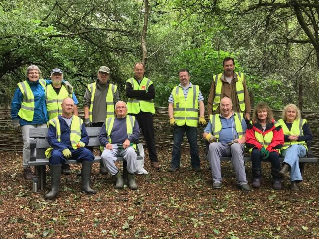 The Friends of Alder Coppice have worked hard to make the ancient woodland more accessible.