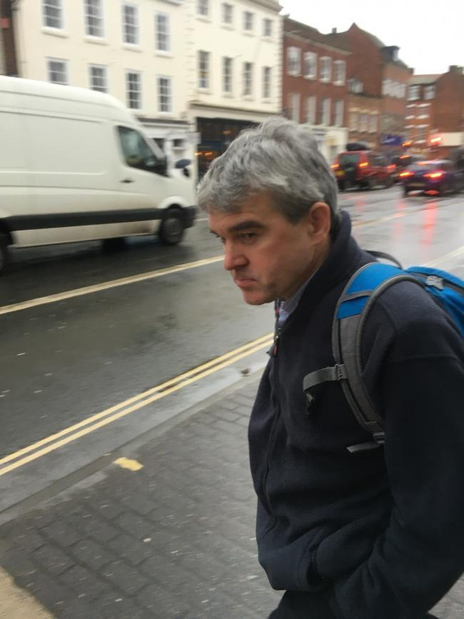 Neil Brown outside Worcester Crown Court