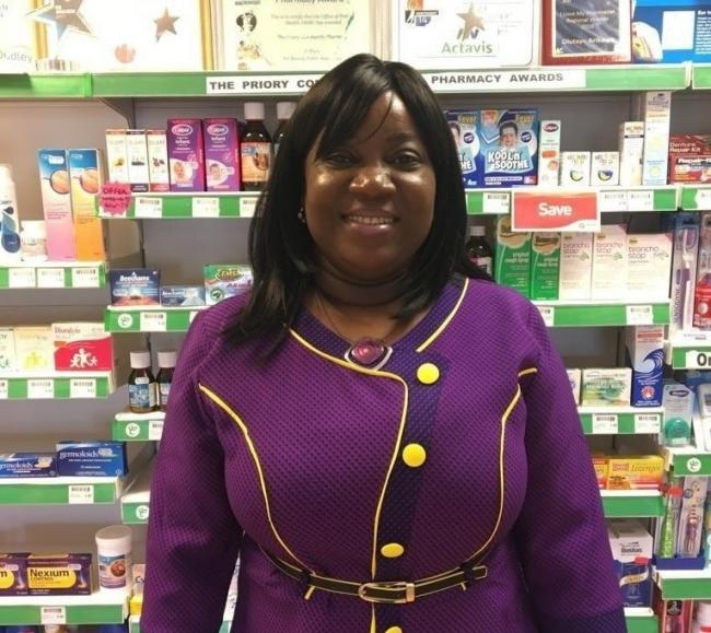 Olutayo Arikawe, from The Priory Pharmacy, Dudley