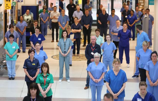 NHS staff are among the key workers we want to salute for their dedication during the coronavirus crisis