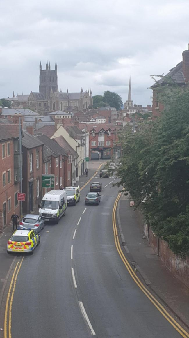 POLICE: London Road Worcester