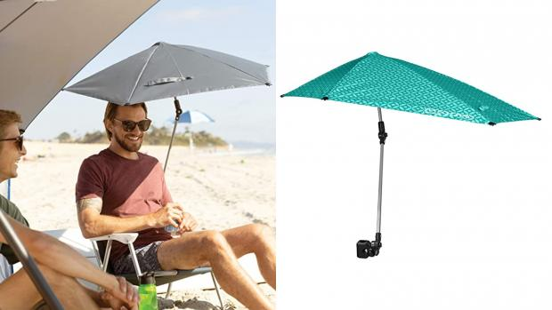 Dudley News: Take a break from the sun with this clip-on umbrella Credit: Amazon