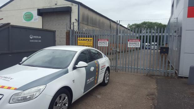 Dudley News: Priority Security Group's headquarters at Sandy Lane Industrial Estate in Stourport