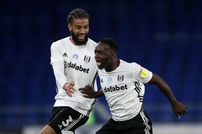 Michael Hector (left) has become a key player for Fulham ahead of their Sky Bet Championship play-off final date with Brentford