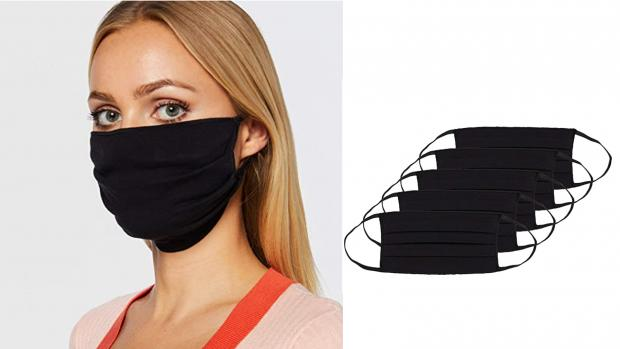 Dudley News: These pleated masks make for a better fit. Credit: Amazon / Oscar Apparels