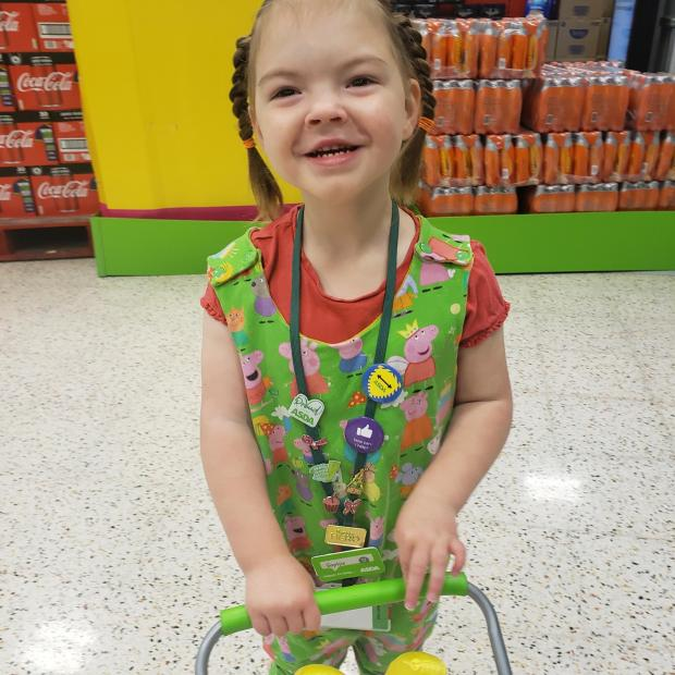 Dudley News: Sophie Birkin at Asda