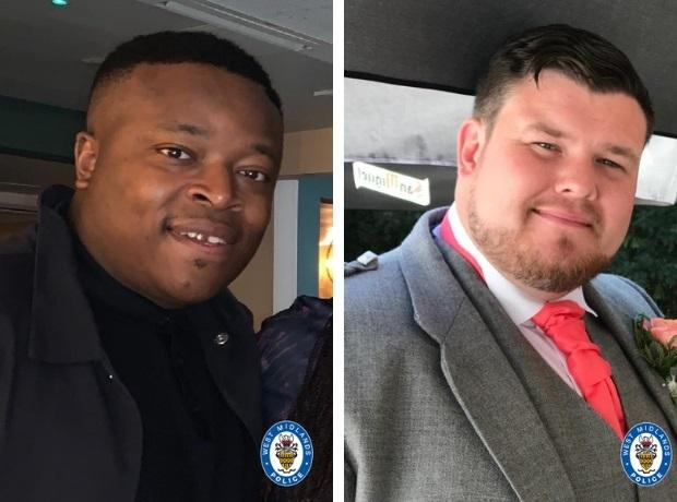 William Henry, left, and Brian McIntosh, right. Pics - West Midlands Police