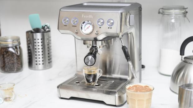Dudley News: If you're trying to kick your Costa habit, you may benefit from an espresso machine. Credit: Reviewed / Betsey Goldwasser