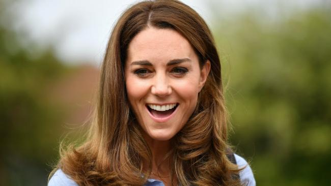 Kate Middleton reveals her most used emojis .Picture: PA Wire
