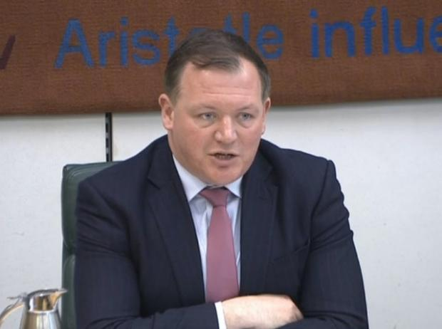 Dudley News: Damian Collins took aim at Facebook as the International Grand Committee convened virtually. Picture: PA Wire