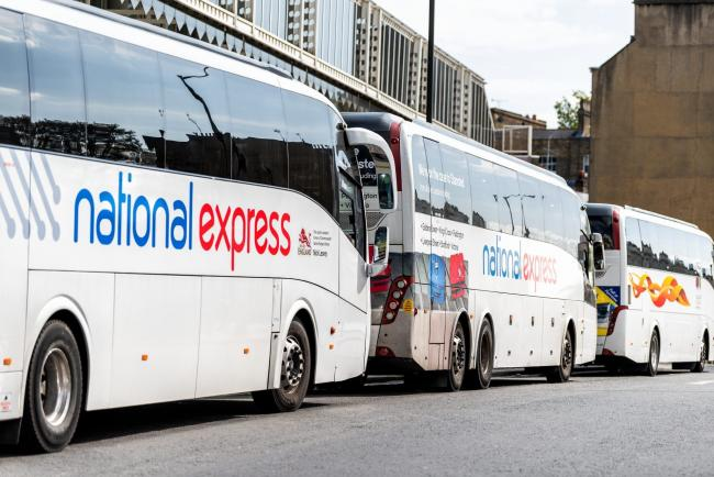 National Express has suspended all services . (JPI Media)