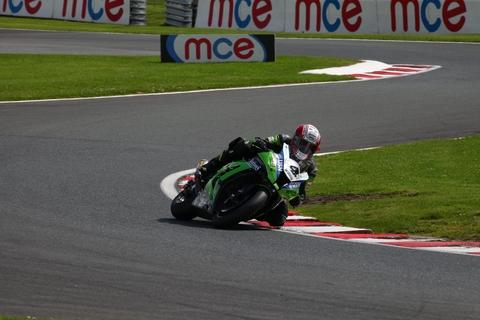 Michael Rutter in action at Oulton Park