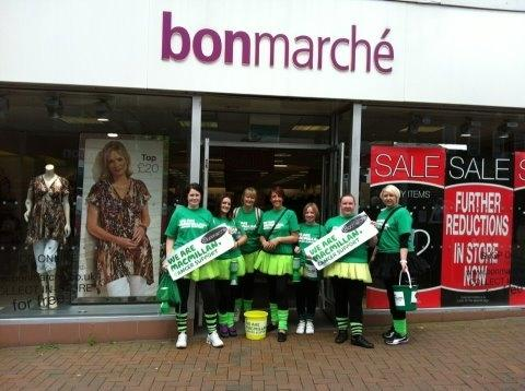 Bonmarché staff put best feet forward