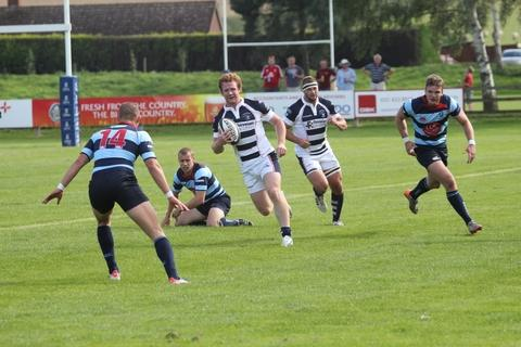 Will Hurrell in action for Stourbridge