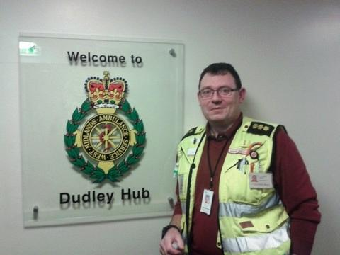 Hans Sigvart Hansen at Dudley Ambulance Hub