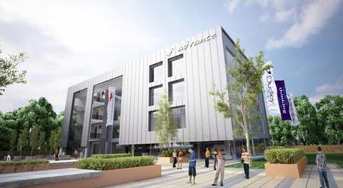 Artist impression of Dudley Advance which was passed by Dudley councillors