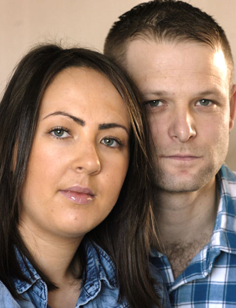 Gemma Peters and Liam Greenfield. Buy photo: 031315K - 2294188